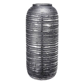 Textured Stripe Vase