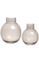 Franklyn Taupe Glass Vase - Large