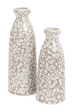 Boise Ceramic Vase Taupe 2 Sizes