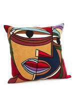 Picasso Embroidered Cushion Cover